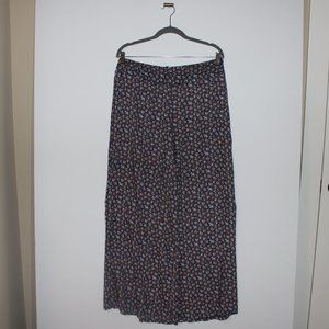 Floral Palazzo Pants Wide Leg Forever 21 Large